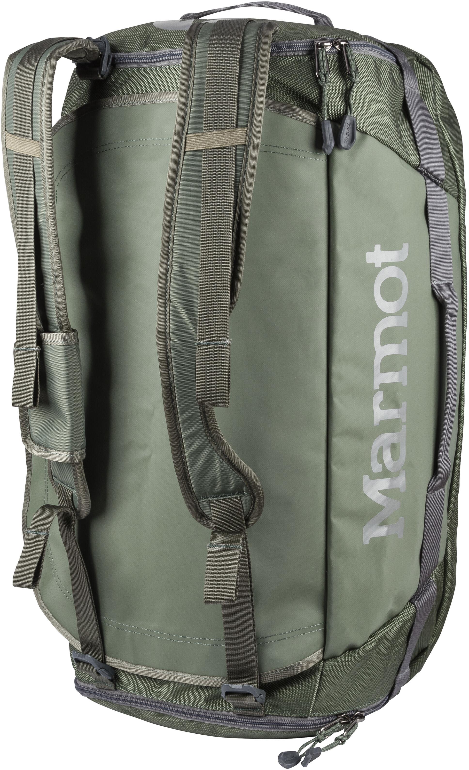 14a072678 Marmot Long Hauler Duffel Travel Luggage Medium green at Addnature.co.uk